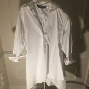 Zara Crisp White Shirt
